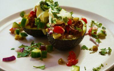 Avocado Taco Boats