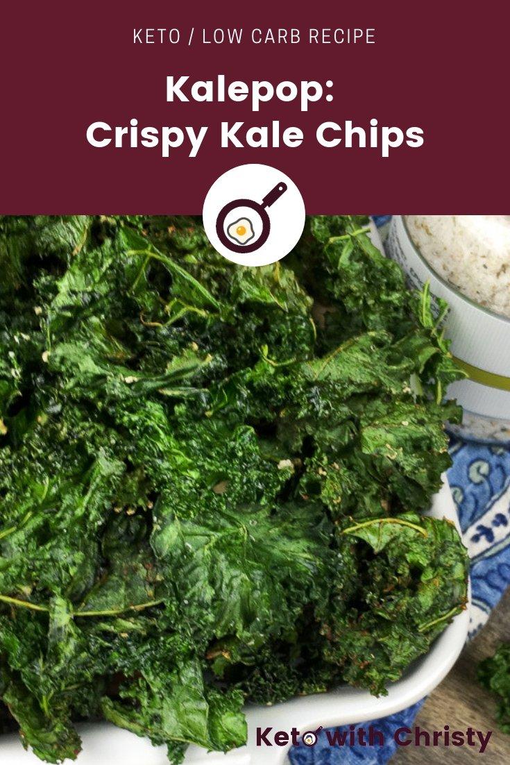 Kalepop aka Crispy Seasoned Kale Chips