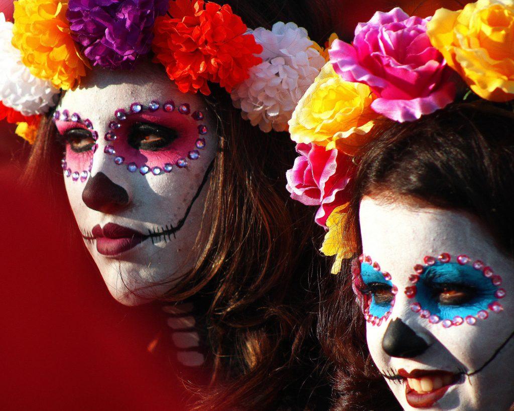 Catrina Colorful Day Of The Dead Dia De Muertos 541250