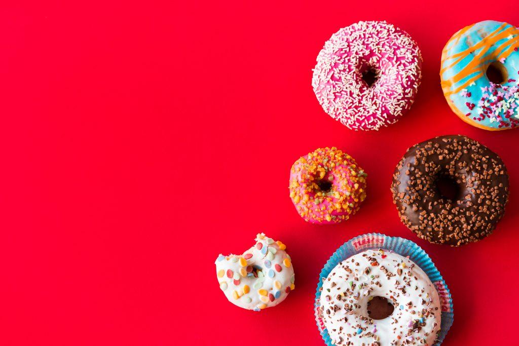 Colorful Donuts Picjumbo Com