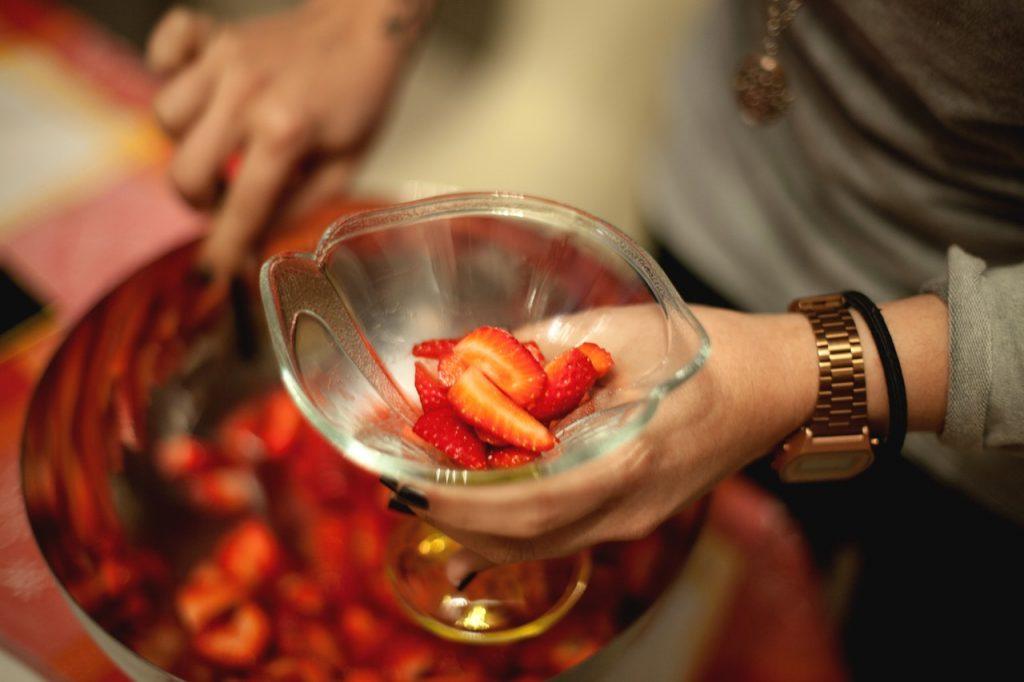 Cuisine Fruits Hands 1479