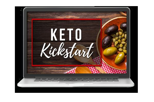 Keto Kickstart on a Laptop